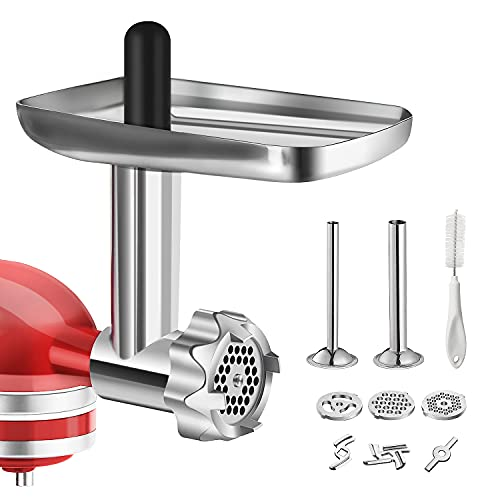 food grinder attachment for kitchenaid stand mixer
