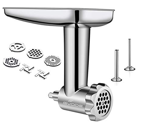 stainless steel meat grinder attachment