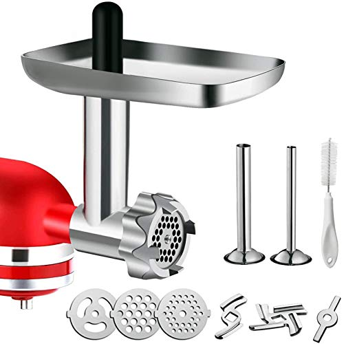 heavy duty meat grinder attachment