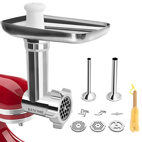 metal meat grinder attachment for kitchenaid