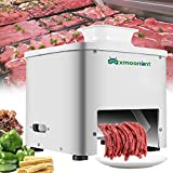 Mxmoonant Meat Cutter Machine 5mm Thickness Commercial Meat Slicer for Restaurant Canteen Supermarket Kitchen 110V US Plug