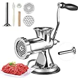 top hand operated meat grinder machine