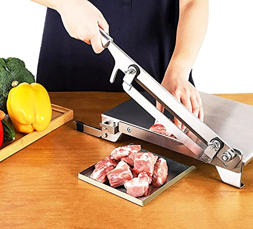 manual meat slicer machine