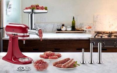 best kitchenaid meat grinder attachments