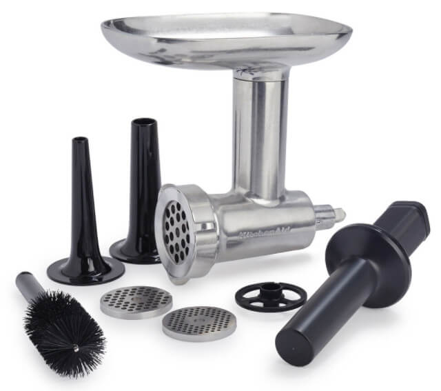 cleaning a meat grinder machine